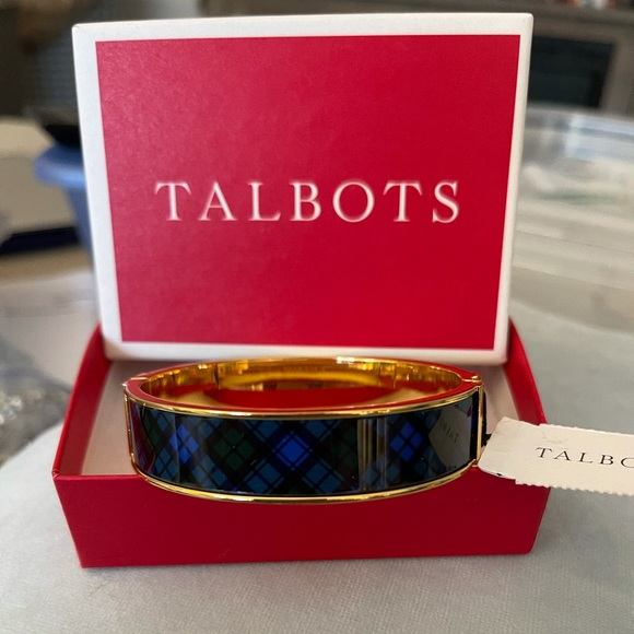 Talbots 15mm printed bangle bracelet